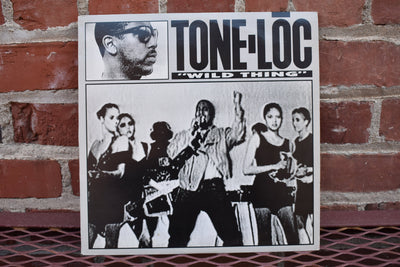 "Tone-Loc, Wild Thing, single 12"",  vintage hip hop music"