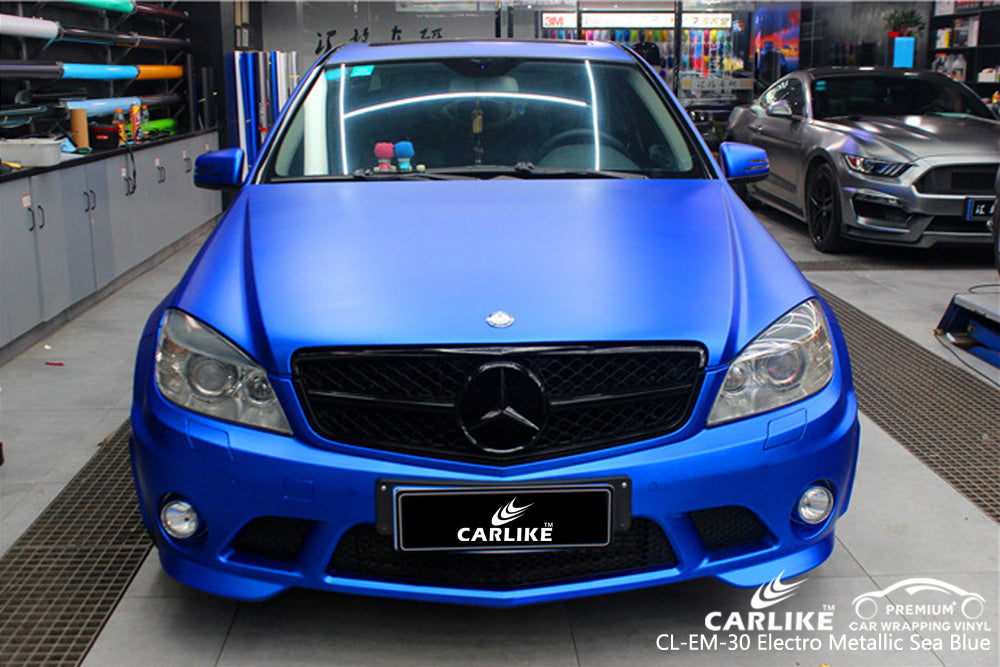 CARLIKE CL-EM-30 SEA BLUE MATTE ELECTRO METALLIC VINYL