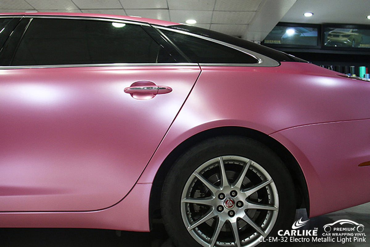 CARLIKE CL-EM-32 LIGHT PINK MATTE ELECTRO METALLIC VINYL