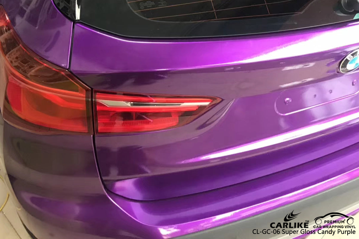 CARLIKE CL-GC-06 SUPER GLOSS CANDY PURPLE VINYL