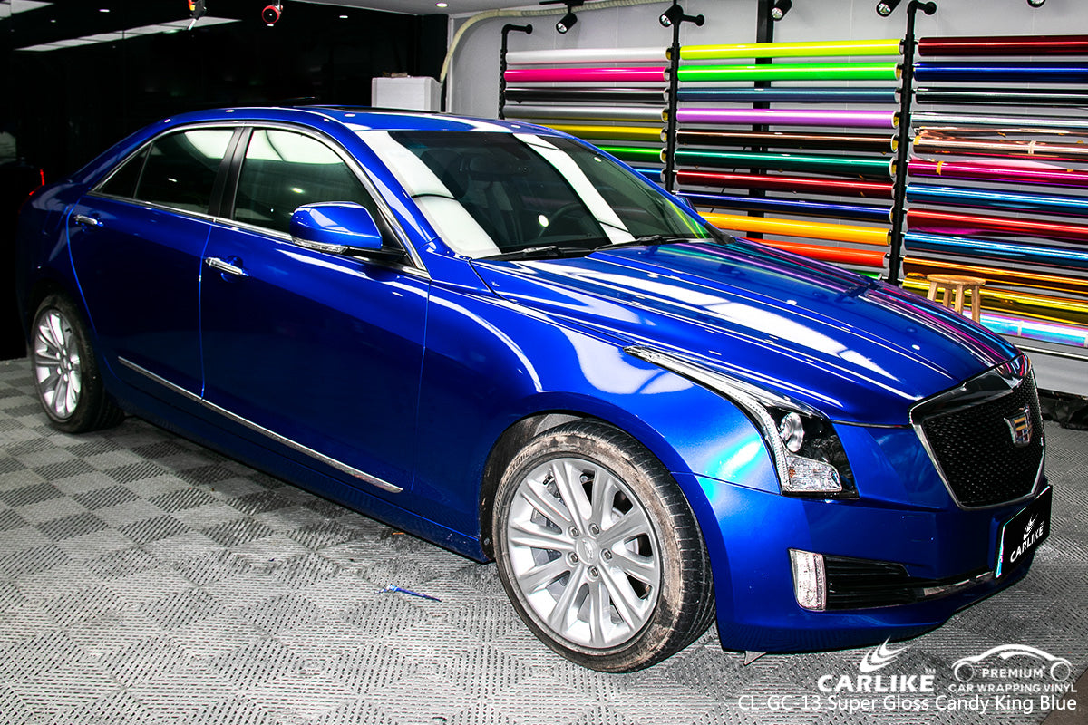 CARLIKE CL-GC-13 SUPER GLOSS CANDY KING BLUE VINYL