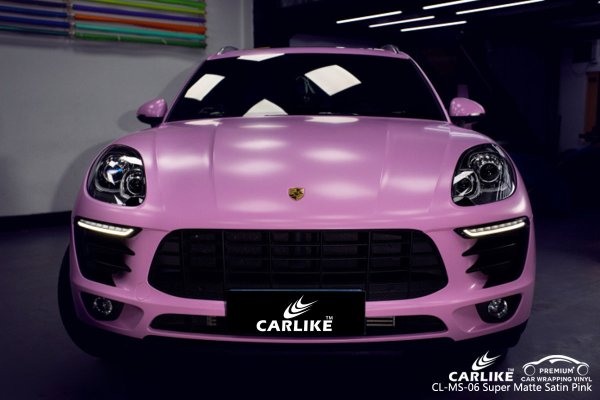 CARLIKE CL-MS-06 SUPER MATTE SATIN PINK VINYL