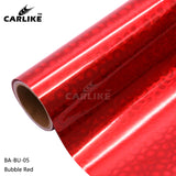 CARLIKE BA-BU-05 Holographic Bubble Red Cricut Cutting DIY Craft Vinyl