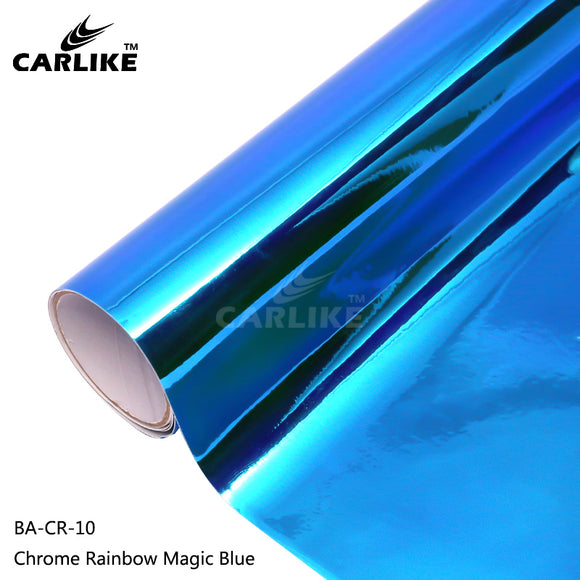 CARLIKE BA-CR-10 Chrome Rainbow Magic Blue Cricut Cutting DIY Craft Vinyl