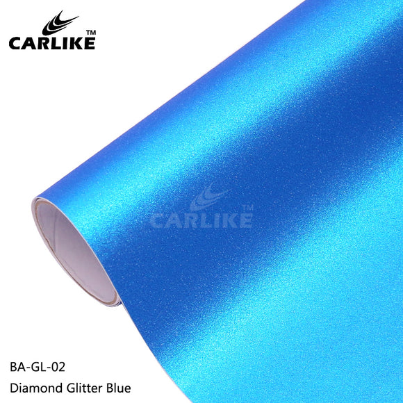 CARLIKE BA-GL-02 Diamond Glitter Blue Cricut Cutting DIY Craft Vinyl