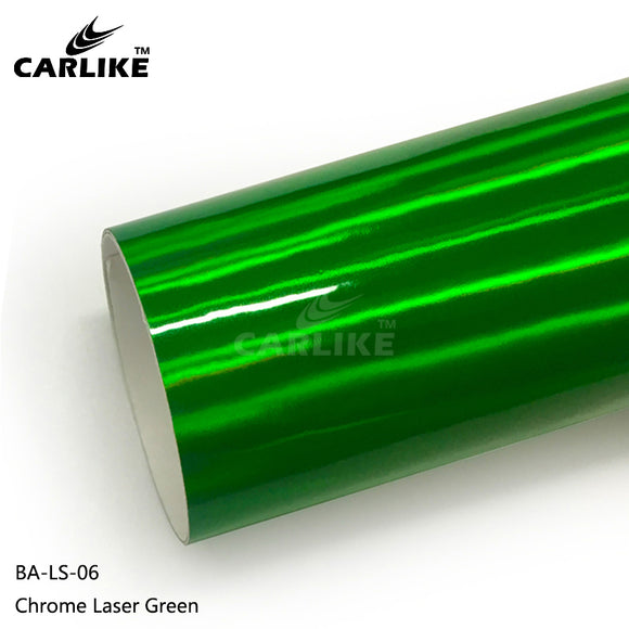 CARLIKE BA-LS-06 Chrome Laser Green Cricut Cutting DIY Craft Vinyl