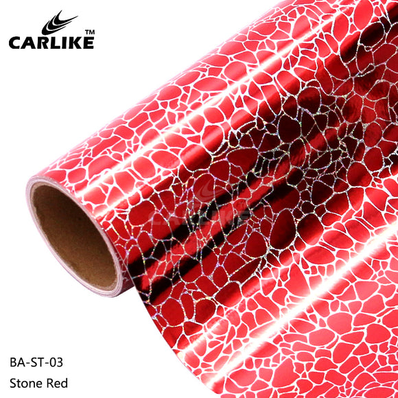 CARLIKE BA-ST-03 Holographic Stone Red Cricut Cutting DIY Craft Vinyl