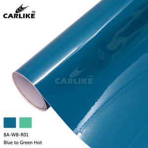 CARLIKE BA-WB-R01 Hot Temperature Color Change Blue to Green Cricut Cutting DIY Craft Vinyl