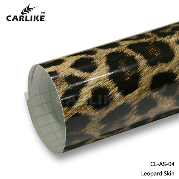 CARLIKE CL-AS-04 Leopard Skin Vinyl