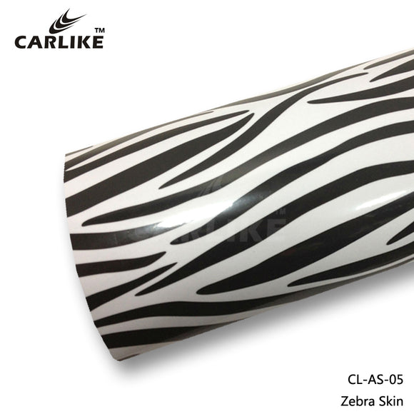 CARLIKE CL-AS-05 Zebra Skin Vinyl
