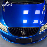 CARLIKE CL-CG-14 Chrome Gloss Mist Blue Vinyl