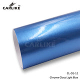 CARLIKE CL-CG-12 Chrome Gloss Light Blue Vinyl