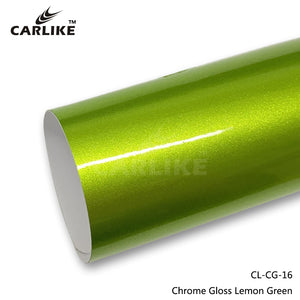 CARLIKE CL-CG-16 Chrome Gloss Lemon Green Vinyl