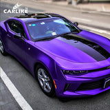 CARLIKE CL-CM-16 Chrome Matte Grape Purple Vinyl