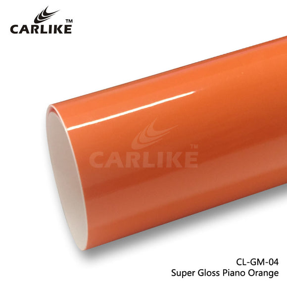 CARLIKE CL-GM-04 Super Gloss Piano Orange Vinyl