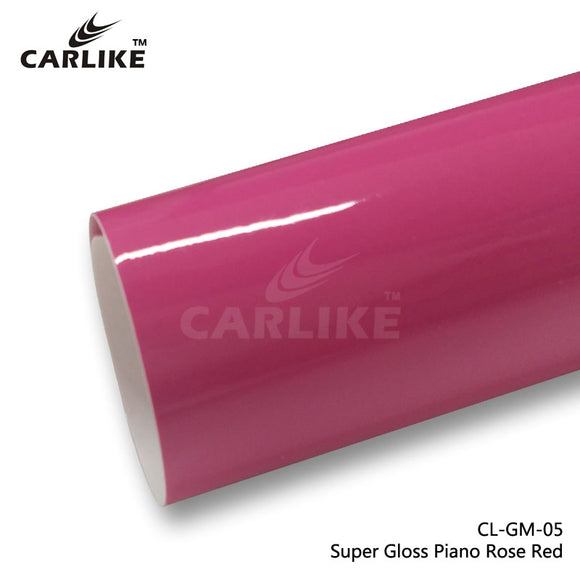 CARLIKE CL-GM-05 Super Gloss Piano Rose Red Vinyl