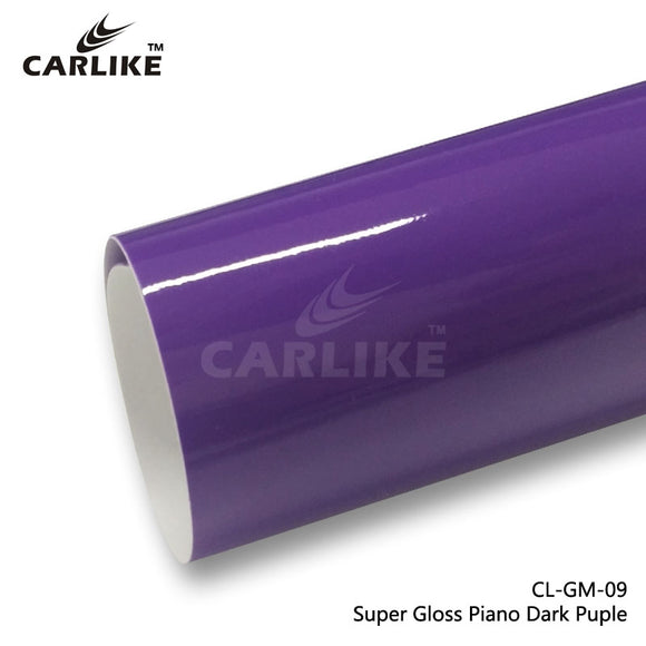 CARLIKE CL-GM-09 Super Gloss Piano Dark Purple Vinyl