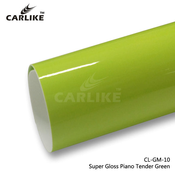 CARLIKE CL-GM-10 Super Gloss Piano Tender Green Vinyl