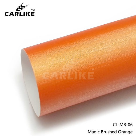 CARLIKE CL-MB-06 Magic Brushed Orange Vinyl