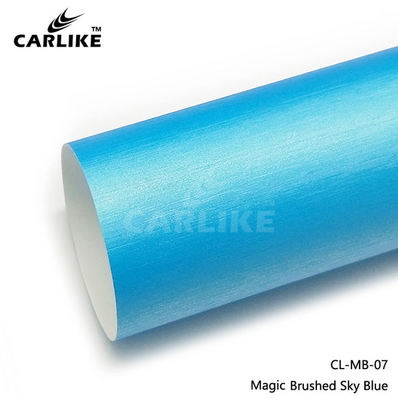 CARLIKE CL-MB-07 Magice Brushed Sky Blue Vinyl