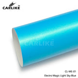 CARLIKE CL-ME-01 Matte Electro Magic Light Sky Blue Vinyl