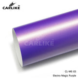 CARLIKE CL-ME-03 Matte Electro Magic Purple Vinyl