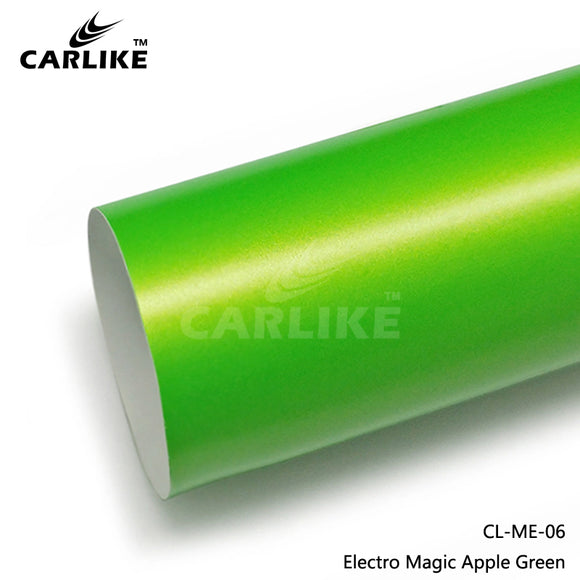 CARLIKE CL-ME-06 Matte Electro Magic Apple Green Vinyl