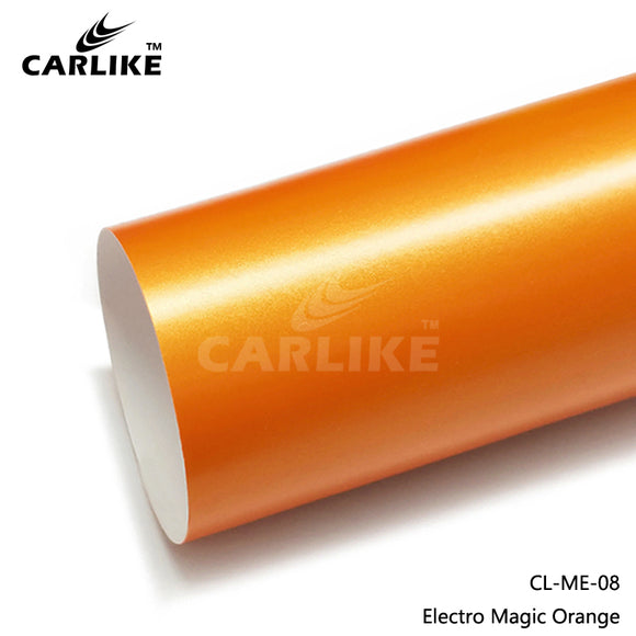 CARLIKE CL-ME-08 Matte Electro Magic Orange Vinyl