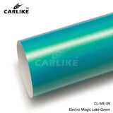 CARLIKE CL-ME-09 Matte Electro Magic Lake Green Vinyl