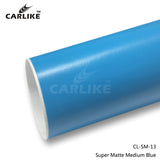 CARLIKE CL-SM-13 Super Matte Medium Blue Vinyl