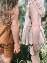 Load image into Gallery viewer, Ribbed Bike Shorts - Dusty Pink
