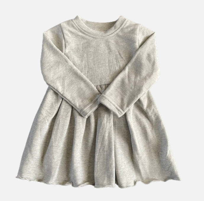 Sweatshirt Dress - Grey
