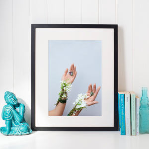 """Nature's Hands"" Limited Edition Print"