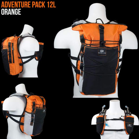 Adventure Pack 12L: Ideal For Ultra Running Hiking Mountain Biking - Packs