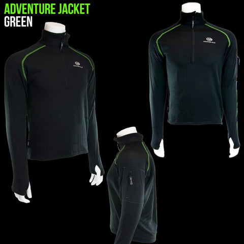 Polartec Adventure Jacket: Ideal For Cold Weather Running And Mountain Bike Adventures. - Accessories