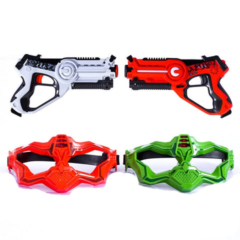 Toy Laser Tag Guns With Flash Light Sounds Effect Shooting Game Toys For Boys