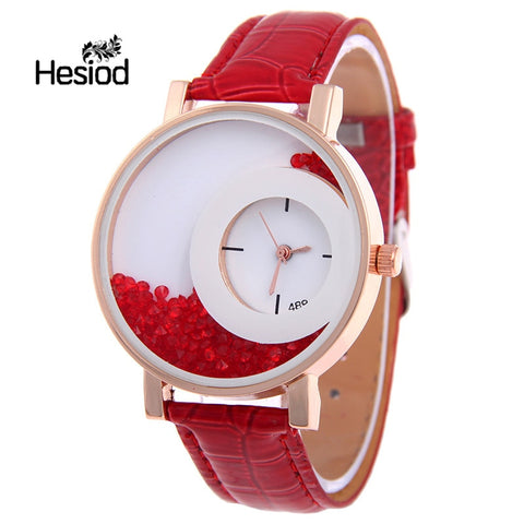 Women Rhinestone Wrist Watches Casual Women Dress Watches