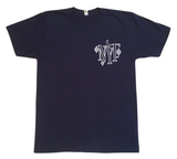 Witch Tee - Navy with Glow In The Dark Print