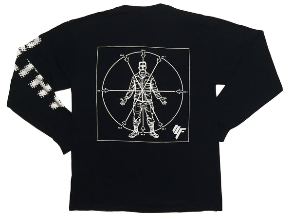 Angles of Attack Longsleeve Shirt - Black Glow