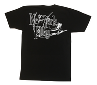 Witch Tee - Black with Glow In The Dark Print