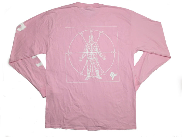 Angles of Attack Longsleeve Shirt - Classic Pink