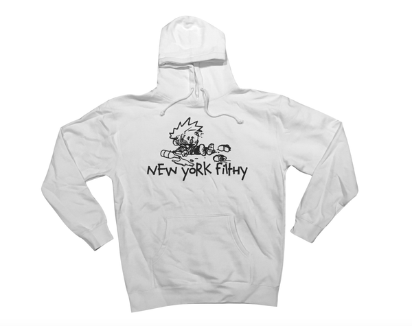 Intoxicated Hooded Sweatshirt - White