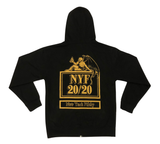 20/20 Zip Up Sweatshirt - Black