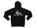Intoxicated Midweight Pullover Hoodie- Black