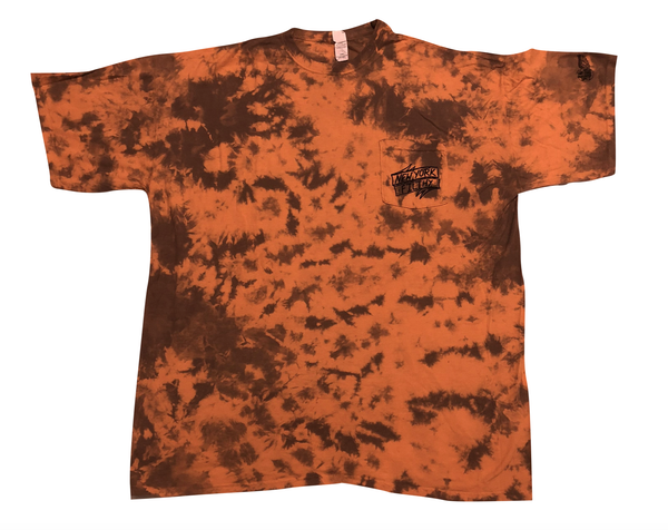 Birdcastle Pocket Tee - Orange