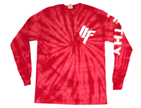 Angles of Attack Longsleeve Shirt - Red Swirl