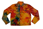 Basic Dyed Denim Jacket - Multicolor