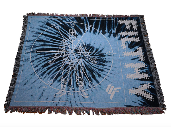 Angles of Attack Woven Blanket