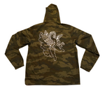 Cherub Hooded Anorak Jacket - Forest Camo