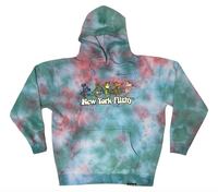 Dancing Hooded Pullover - Solar Beam Dye